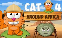 Cat Around Africa