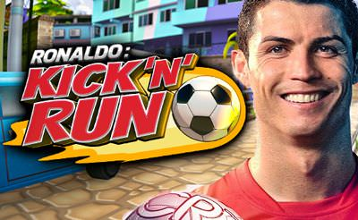 Christiano Ronaldo Kick N' Run