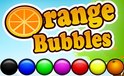 Orange Bubbles Spiel