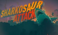 Sharkosaur Attack