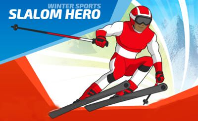 Winter Sports: Slalom Hero